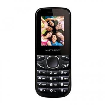 Celular Max II Quadri Chip, Câmera Rádio FM, Bluetooth P3270 Preto/Cinza - Multilaser