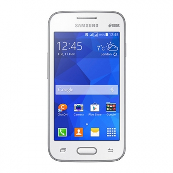 Smartphone Galaxy Ace 4 Lite Duos Dual Chip Branco Android 4.4 3G/Wi-Fi Câmera 3MP 4GB SM-G313ML/DS - Samsung