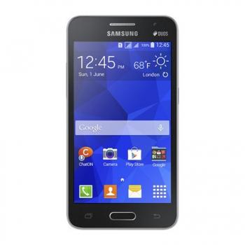 Smartphone Galaxy Core 2 Duos G355M com Android 4.4 Dual Chip Tela de 4.5´ e  Quad Core 1.2 Ghz Wi-Fi Preto - Samsung