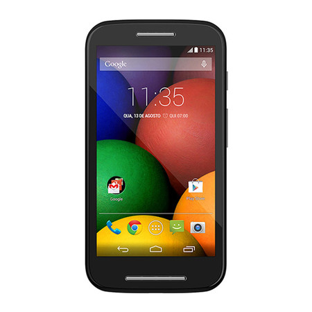 Smartphone Moto E Dual Chip XT1022 - Android 4.4, Dual Core 1.2GHz, 5MP, 4GB, Gorilla Glass 4.3´, Preto - Motorola