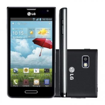Smartphone Optimus F3 P655 4G LTE com Android 4.1, Dual Core 1.2GHz, Câmera 5MP, 4GB, Tela 4.0 WVGA, Preto - LG