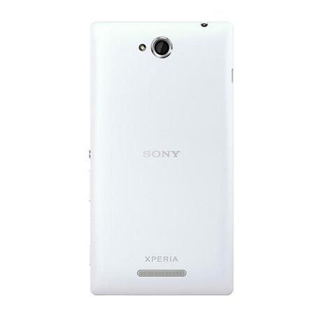 Smartphone Xperia C C2304 com Android 4.2, Quad Core 1.2GHz, Câmera 8MP, 4GB, Tela HD 5, Branco Desbloqueado - Sony