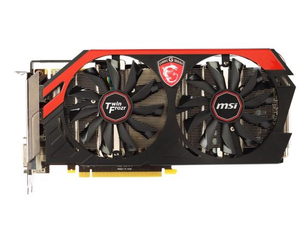 Placa de Vídeo GeForce GTX760 Twin Frozr Gaming 4GB DDR5 256Bits 4GD5/OC - MSI