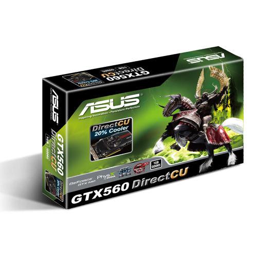 Placa de Vídeo Geforce GTX560 DC 1GB DDR5 (90-C1CQV0-L0UAY0YZ) - Asus