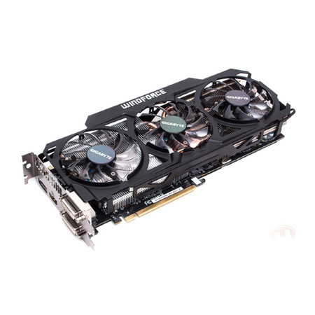 Placa de Vídeo Geforce GTX780 3GB DDR5 384Bits OC Windforce 3X GV-N780GHZ-3GD - Gigabyte