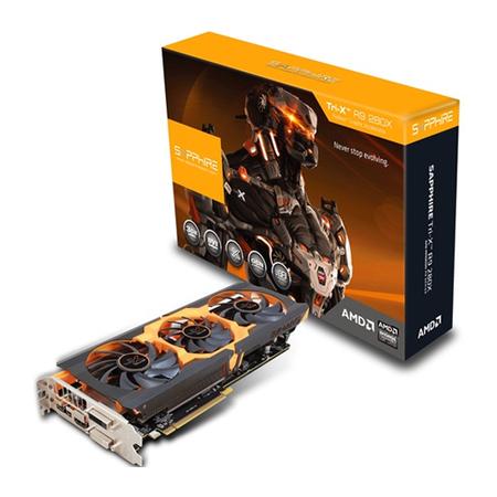 Placa de Vídeo ATI R9 280X 3GB GDDR5 384Bits 11221-22-20G - Shappire