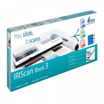 Scanner de Mao IRIScan Book 3 Colorido 900dpi - 457888 - I.R.I.S.