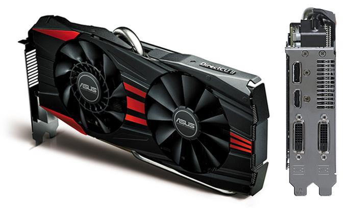 Placa de Vídeo ATI R9 290X 4GB DDR5 512Bits R9290X-DC2-4GD5 - Asus