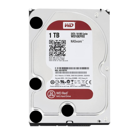 Hard Disk 1TB (Nas) Red Sata III 64MB 7200RPM WD10EFRX - Western Digital