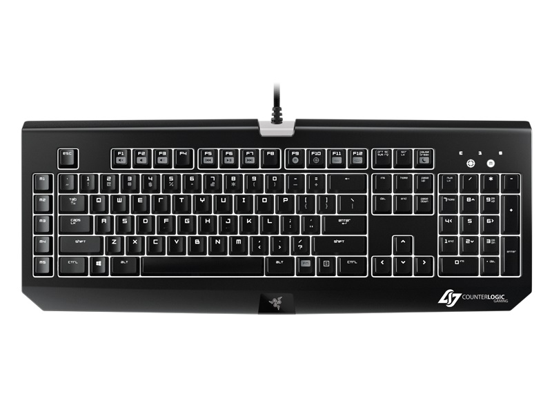 Teclado Mecânico Blackwidow Ultimate Stealth Counter Logic RZ03-00386900-R3M1 - Razer