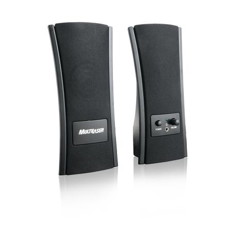 Caixa de Som 2.0 Slim USB SP053 - Multilaser