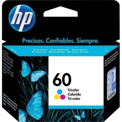 Cartucho 60 Colorido CC643WB 6.5ml - HP