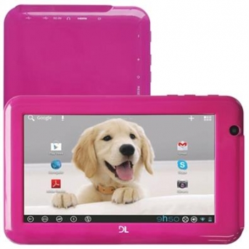 Tablet Everest EV-T72 Tela 7 Processador 1.5Ghz Android 4.0 WIFI 4GB Rosa - DL