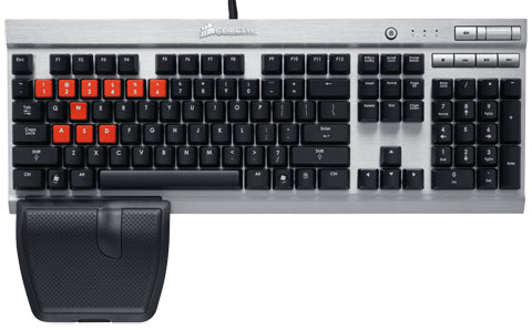 Teclado Gaming K60 USB Vengeance Performance Mmo Mechanical - CH-9000004-BR - Corsair