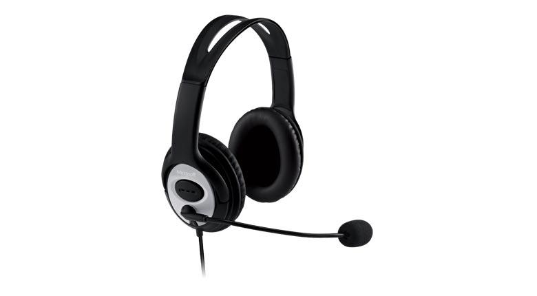 Fone de Ouvido com Microfone LX-3000 USB JUG-00013 - Microsoft