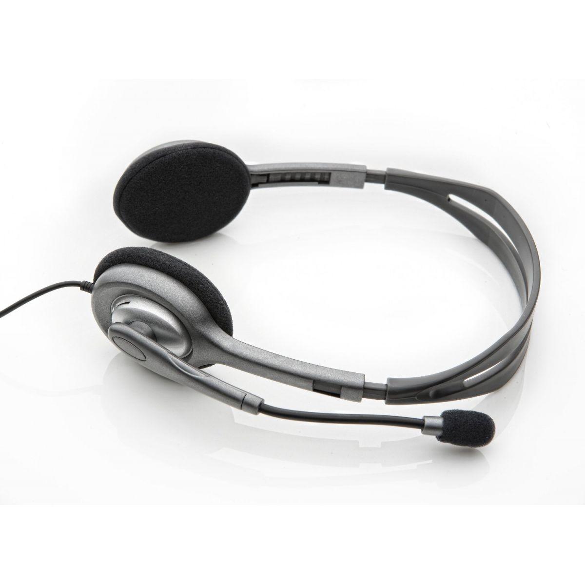 Fone de Ouvido com Microfone H110 981-000305 - Logitech