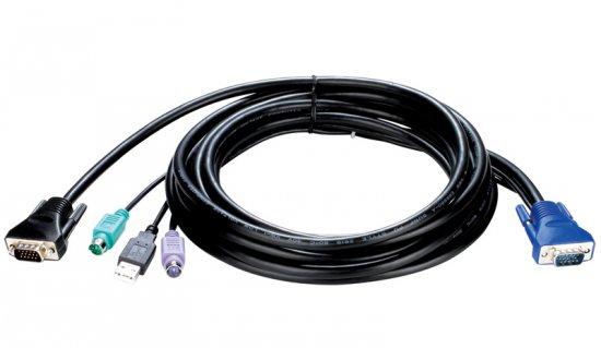 Cabo p/ Server Switch KVM-402 BR 3 metros - D-Link -