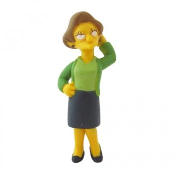 Boneco The Simpsons Edna Krabappel BR205/BR361 - Multikids