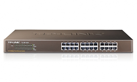 Switch TL-SF1024 Rack com 24portas 10/100 - Tplink