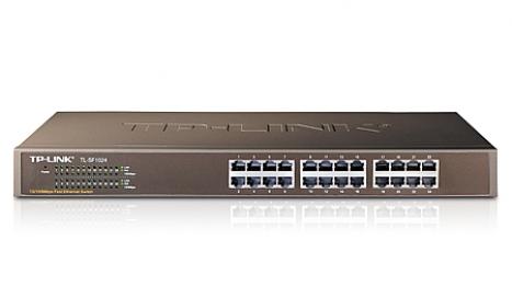 Switch TL-SF1024 Rack com 24portas 10/100 - Tplink