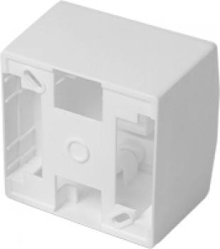 Caixa de Sobrepor Branca 3x3 ´´ 75x75x45 57291 - Sollus -