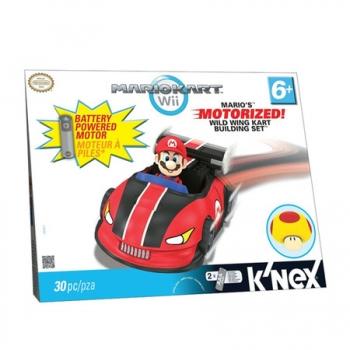 Knex Mario Kart Wii Mario Motorized com 30 Peças BR045 - Multikids