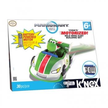 Knex Mario Kart Wii Yoshi Motorized com 30 Peças BR045 - Multikids