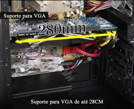 Gabinete ATX L900F8 - 3R System