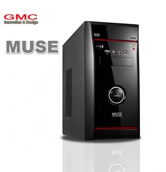 Gabinete ATX Micro/Mini Muse s/ Fonte - Gmc