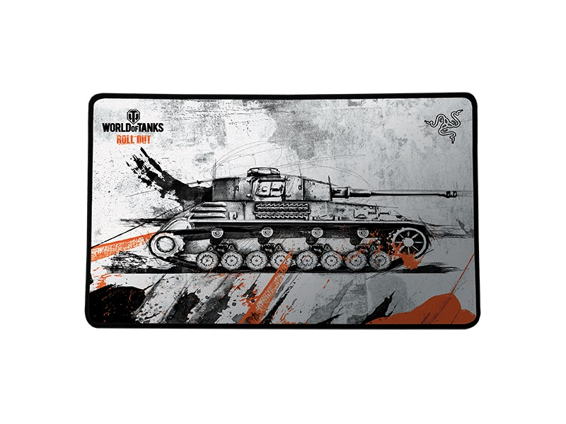 Mouse Pad Goliathus Medium Speed World Of Tanks RZ02-00214900-R3M1 - Razer