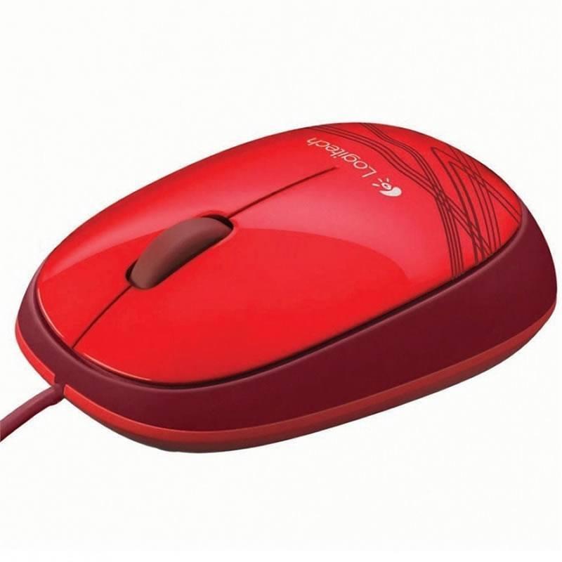 Mouse Otico USB M105 Vermelho 910-002959 - Logitech