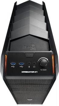 Gabinete ATX Xpredator X1 Black Edition USB3.0 EN57059 - Aerocool