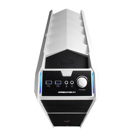 Gabinete ATX Xpredator X1 White S/Fonte EN57080 - Aerocool