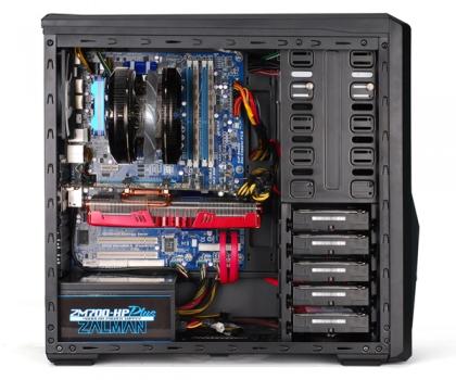 Gabinete ATX Z9U3 c/ Acrílico USB 3.0 - Zalman