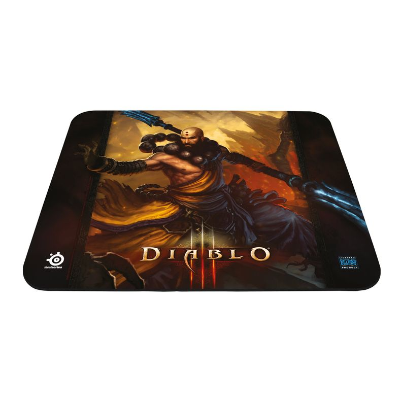 Mouse Pad QcK Diablo III Monk Edition 67228 - Steelseries