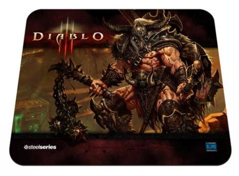 Mouse Pad QcK Edição Limitada DIABLO III Barbarian 67222 - Steelseries