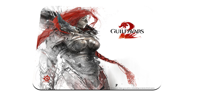 Mouse Pad QcK Edi��o Limitada Guild Wars 2 Eir 67243 - Steelseries
