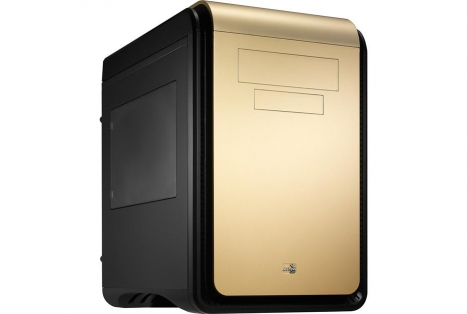 Gabinete DS Cube Gold Window Edition s/ Fonte EN52391 (Micro/Mini ATX) - Aerocool