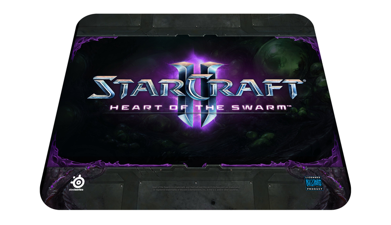 Mouse Pad QcK Edição Limitada StarCraft Heart of The Swarm 67267 - Steelseries