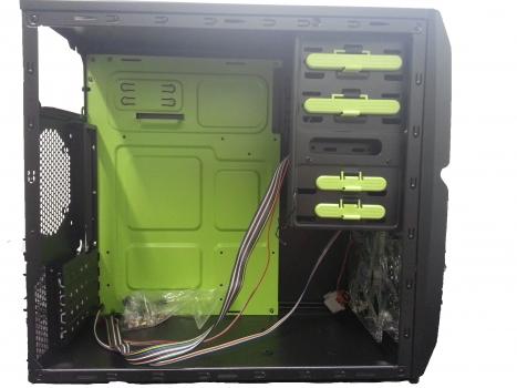 Gabinete Micro Five Series 508 Sem Fonte SH-508B - New Drive