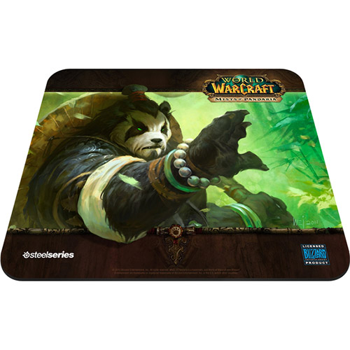 Mouse Pad QcK Edi��o Limitada World of Warcraft Mists of Pandaria 67261 - Steelseries