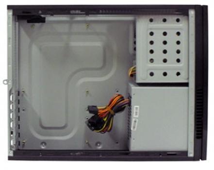 Gabinete ATX Slim SF102FL Preto Floral Color com Fonte 200W (CCIGABIS102FL) - New Drive