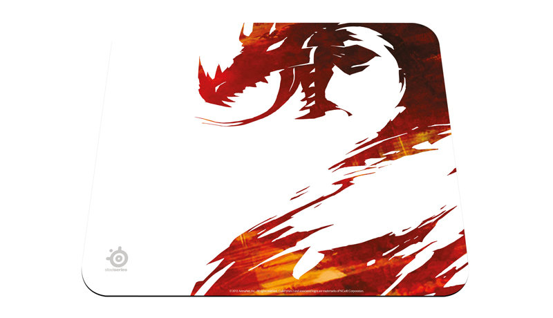 Mouse Pad QcK Guild Wars 2 Logo Edition 67252 - Steelseries