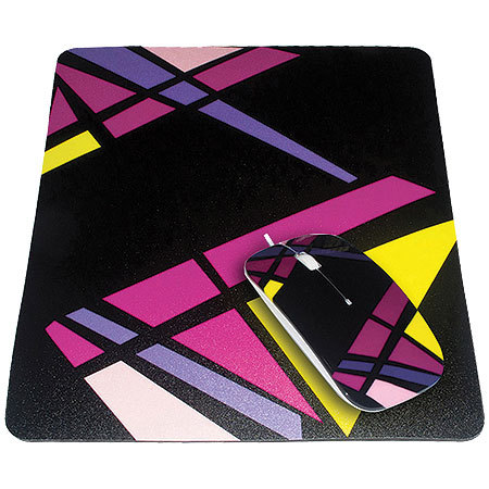 Kit Passion Mouse + Mouse Pad Mondrian 8798 - Leadership