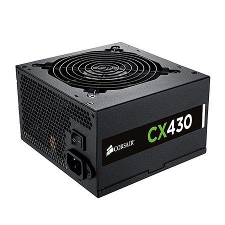 Fonte ATX 430W CX430 80 Plus Bronze CP-9020046-WW (PFC Ativo) - Corsair