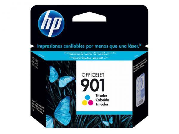 Cartucho 901 Colorido CC656AB 13ML - HP
