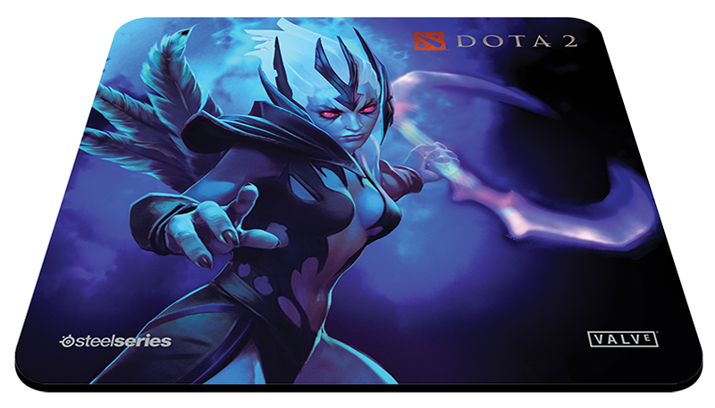 Mouse Pad QcK+ DOTA 2 Vengeful Spirit Edition 67283 - Steelseries