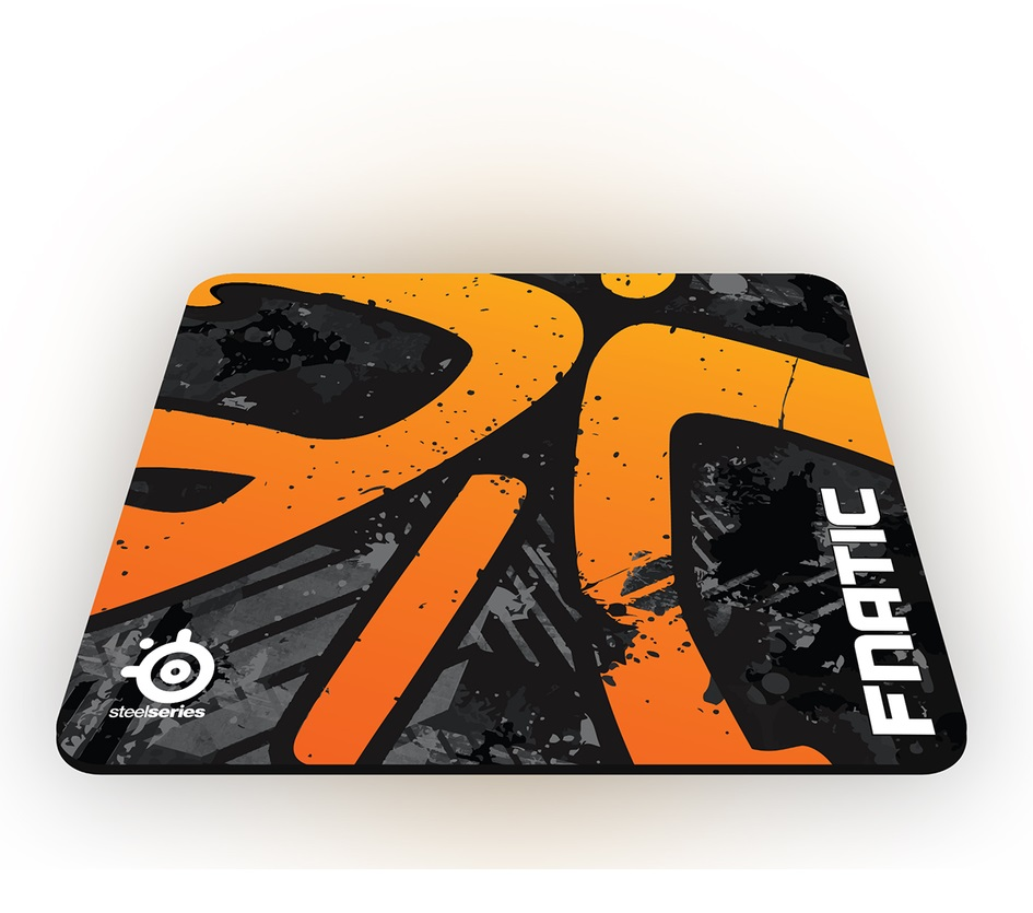 Mouse Pad QcK+ Fnatic Asphalt Edition 63070 - Steelseries