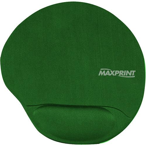 Mouse Pad com Apoio em Gel Verde - Maxprint
