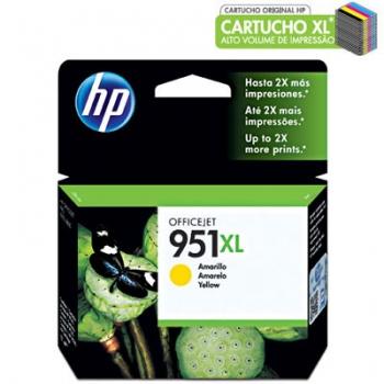 Cartucho 951XL Amarelo CN048AL - HP